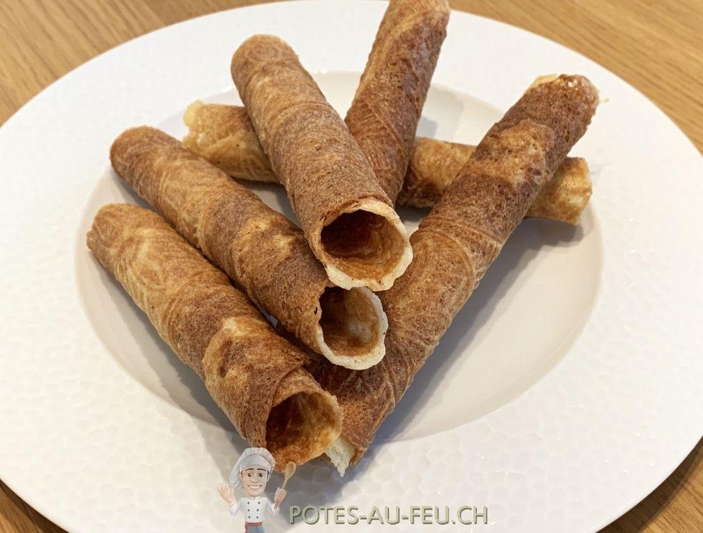 Les véritables bricelets Fribourgeois