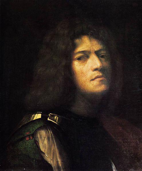 Autoportrait en David