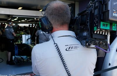 Tata Communications innove en F1