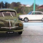 FASCICULE N°15 RENAULT 4CV AFFAIRES 1954 ELIGOR 1/43 - car-collector.net
