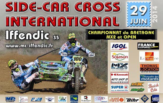 Side-Car Cross International Iffendic 2014