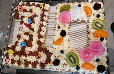 Number Cake (avec ou sans Thermomix)