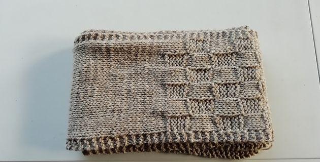 Beginner's Stitch Sampler Scarf - Kristina TUCKER