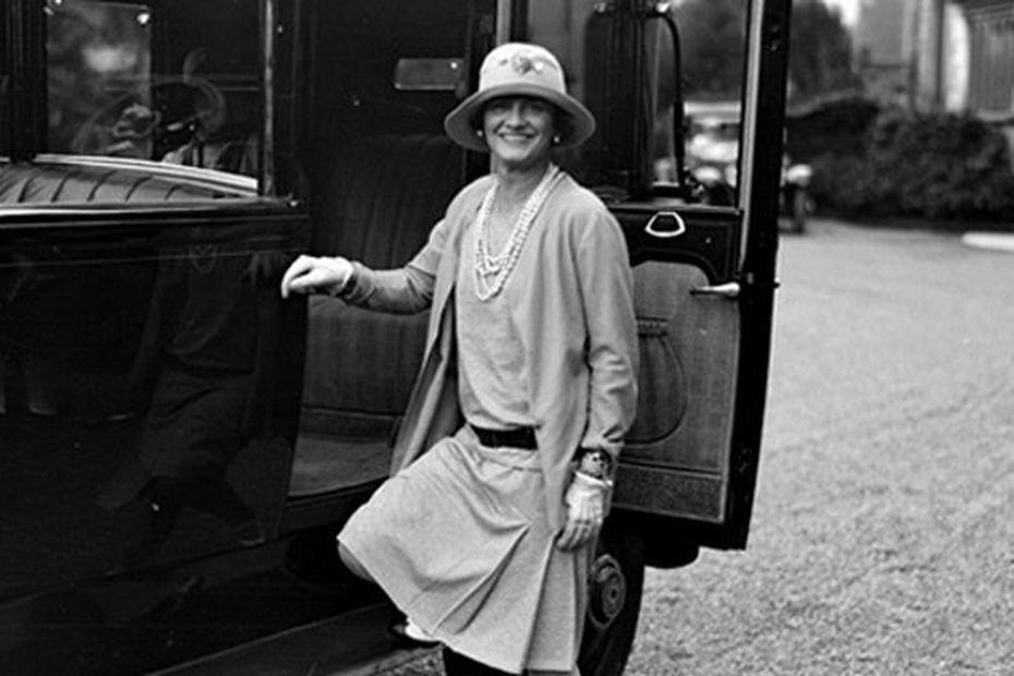 Coco Chanel en 1928 à Biarritz • © DR Hôtel du Palais.fr