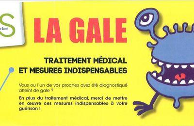 LA GALE : traitement médical et mesures indispensables