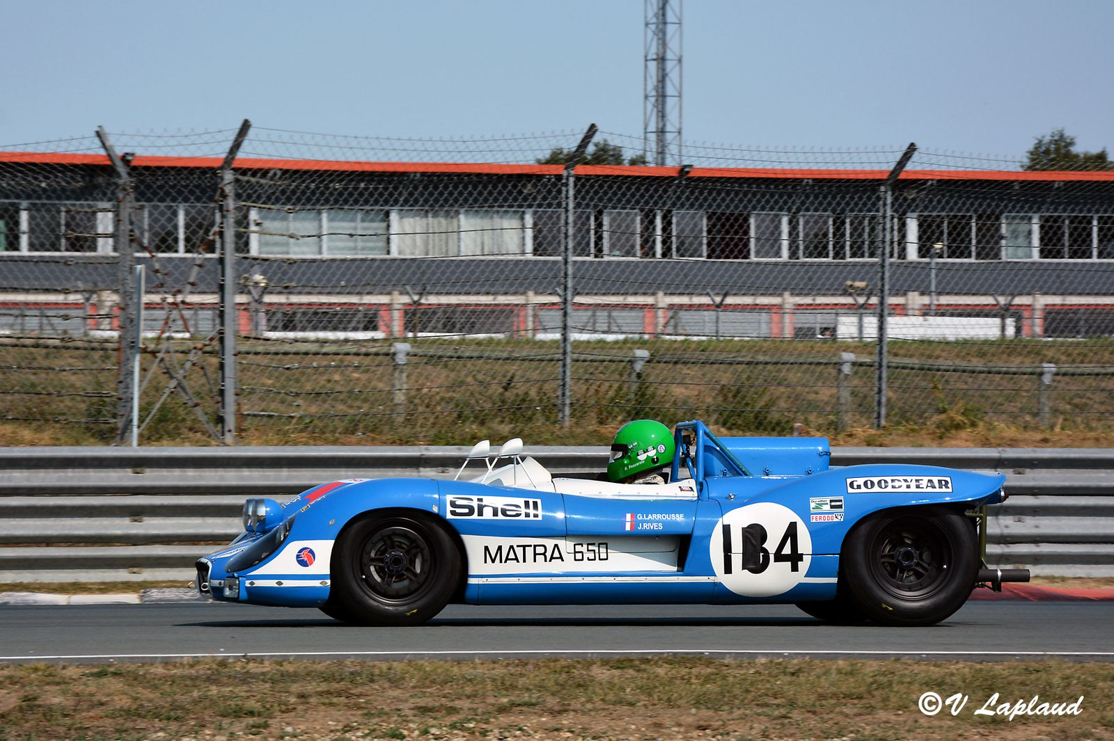 Henri Pescarolo, Matra MS 650-02, le Vigeant 2020, 26ème Sport et Collection.