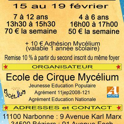 Stages de Cirque d'Hiver !!