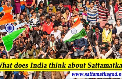 What does India think about Sattamatka?