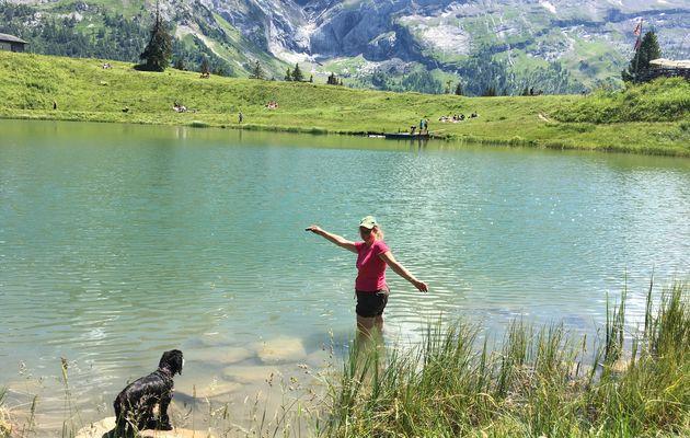 12 juillet 2020 : Le lac Retaud (Suisse)
