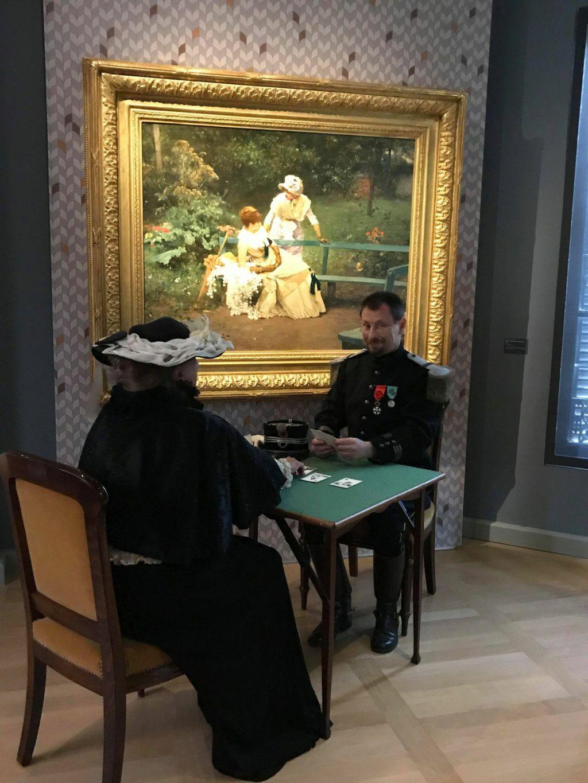 Nous en avons profité pour visiter le nouveau musée 1900 en costume de la belle époque