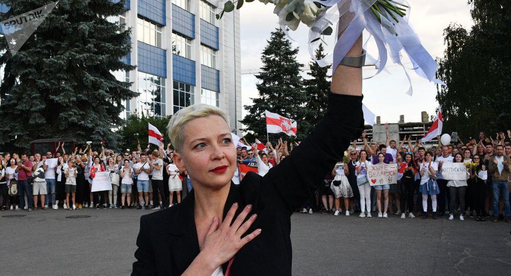 L'opposante biélorusse Maria Kolesnikova a été enlevée puis arrêtée à la frontière ukrainienne
