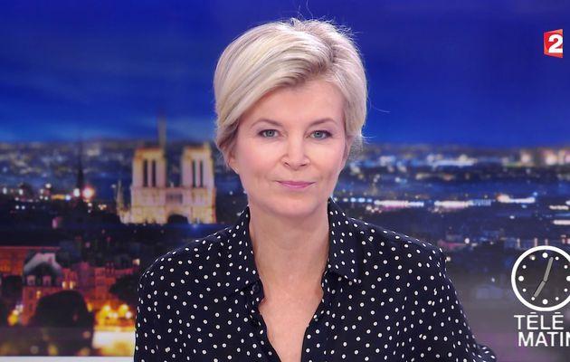 ESTELLE COLIN pour LE JT de 7H ce matin @telematin @France2tv #vuesalatele