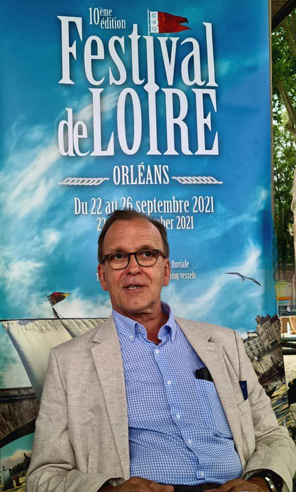 Jean-Pierre Gabelle, conseiller municipal délégué en charge du Festival de Loire.