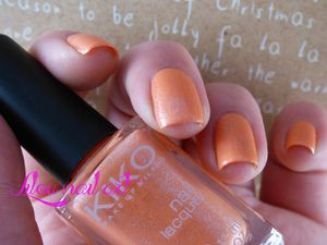 Pearly peach - Kiko (484)