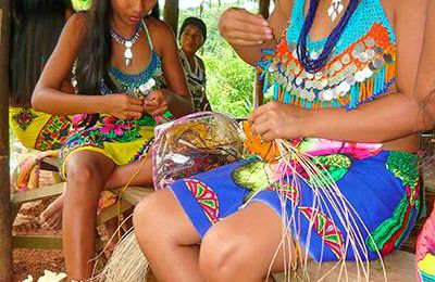 Artisanat traditionnel du Panama, les vanneries des Amérindiens Wounaan et Embera (article 2) par Margo Callaghan