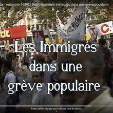 Les Immigrés dans une grève populaire  Usines Peugeot ( Mulhouse – Sochaux ) Automne 1989