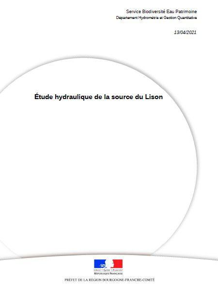 Des Hydromètres à la Source du Lison... (2)