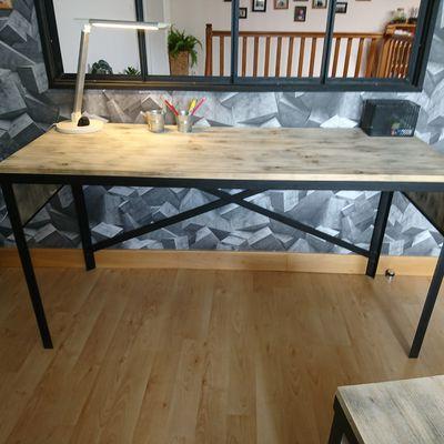 Sébastien Roux Artisan fabrication de meubles style industriel