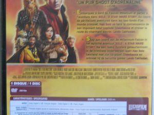 Coup d'oeil sur les Dvd Et Blu-Ray Solo