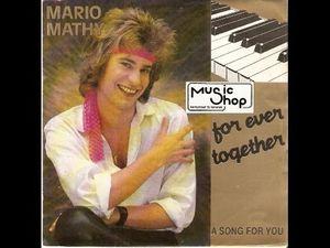 Mario mathy, un musicien belge appelé plus communément le jean Michel jarre des Flandres avec ses synthétiseurs