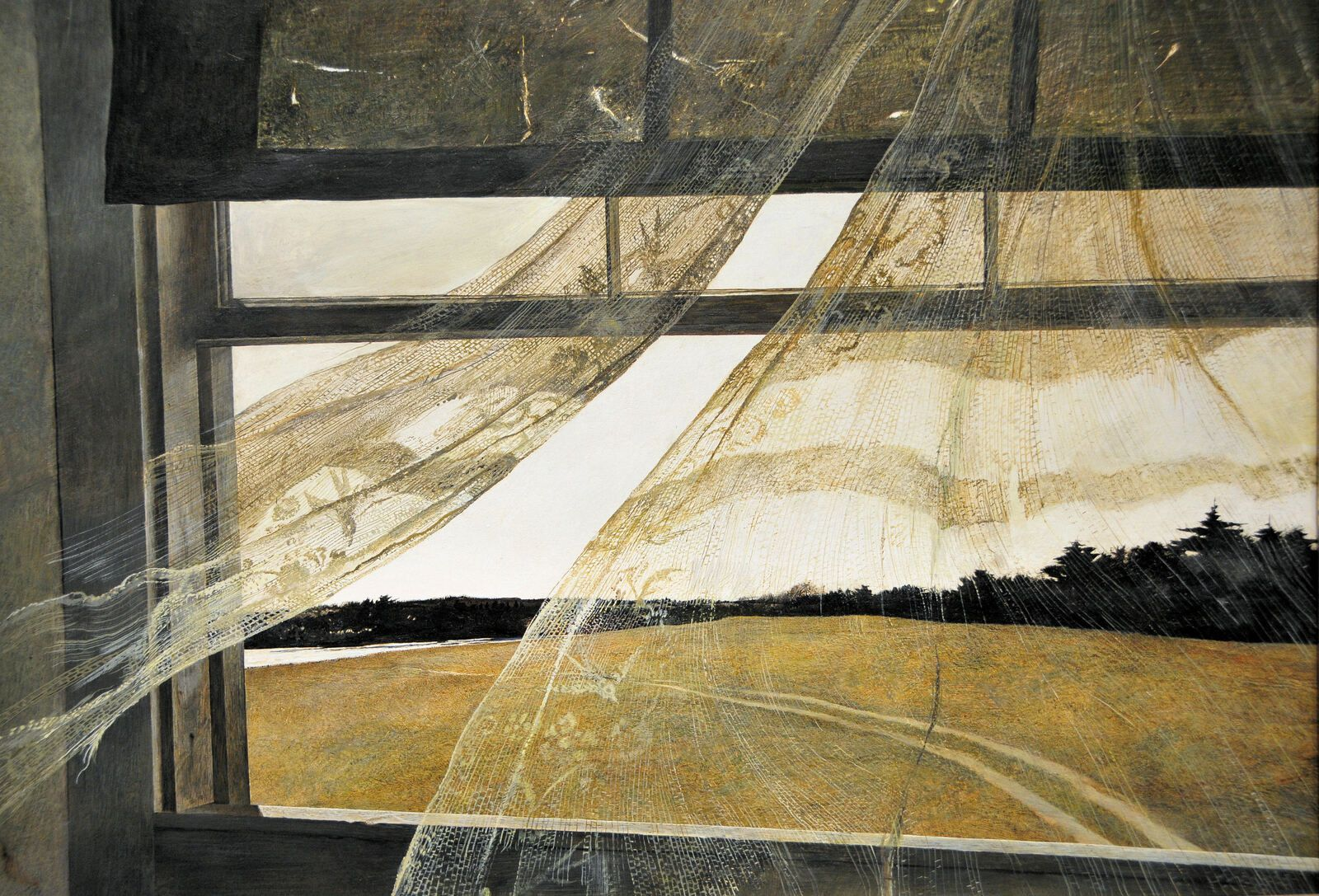 Wind from the sea - Andrew Wyeth