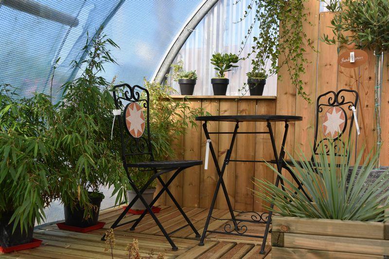 Réville, visite chez un horticulteur