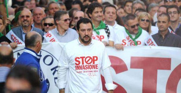 Matteo Salvini: coi cittadini, contro l'Europa della finanza