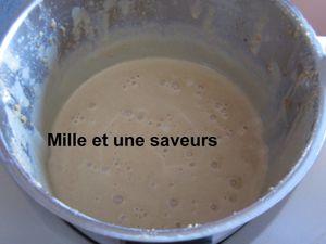 Crème au pain d'épices