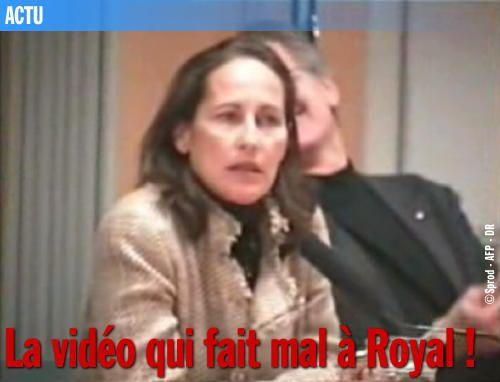 La vidéo qui fait mal à Royal !