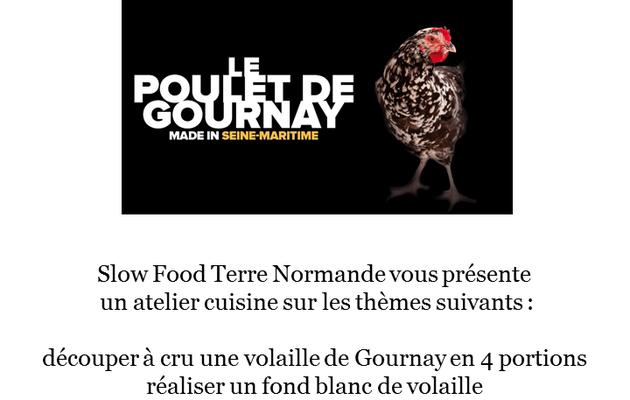 Atelier cuisine spécial Poulet de Gournay