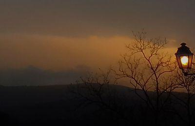 Coucher de soleil du 4 mars