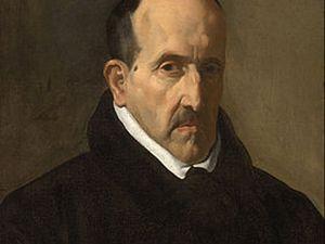 1 - Luis de Congora y Argote - 1622 ; 2 - Portrait d'homme 1634 ; 3 - Juan Martinez Montanés 1635 ; 4 -  Pablo de Valladolid 1635