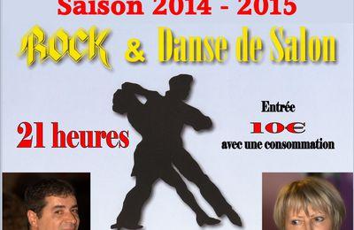 Samedi 10 Janvier 2015. James et Touraine Danse au Dancing La Bergerie à Amboise.