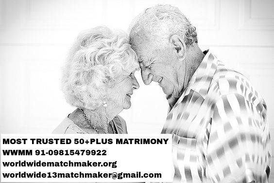 REGISTERED WITH 50+PLUS MATRIMONIAL 91-09815479922 WWMM