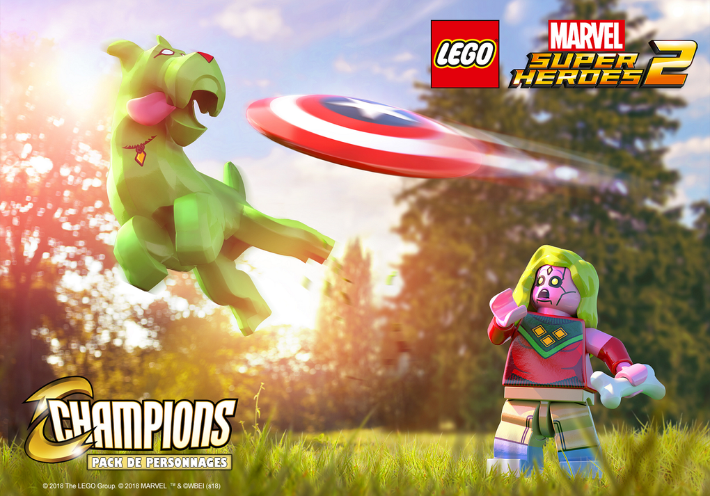 #Gaming : LEGO® Marvel Super Heroes 2 dévoile le Pack de Personnages Champions !