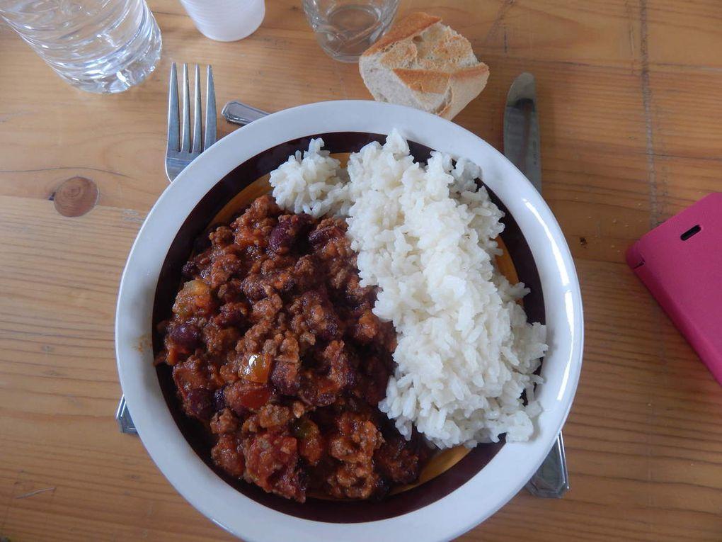 Peu de monde mais quand même une belle journée, et surtout un Chili Corn Carné de Thierry Masson, merci a nos responsables pour  ce plat typique des pionniers du Texas.