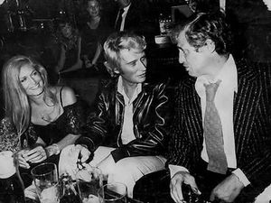 Dalida, Johnny, Belmondo et Albert Minsky, au King Club