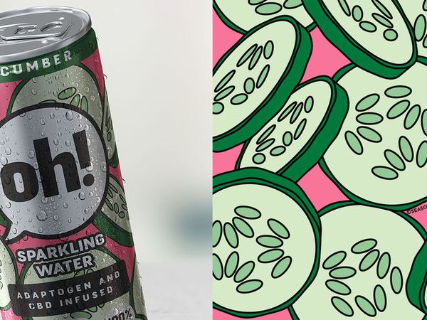 Packaging : Oh! Sparkling Water est vraiment au top !