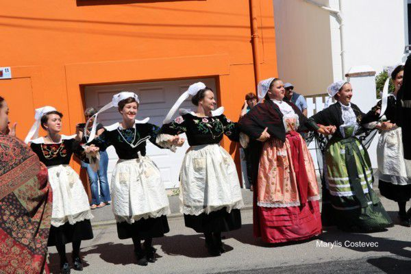 Locmiquélic - fête des langoustines 2017 - le défilé