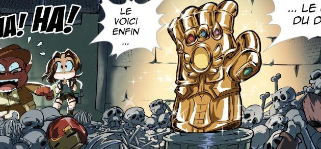[P.4] : News N°7 : Le gant de (Té)Thanos !
