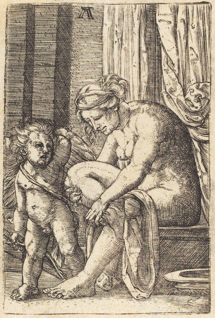 Albrecht Altdorfer - Vénus apès son bain, ca. 1525-1530.jpg
