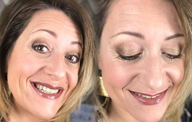 Make-up facile avec la palette Addiction 4