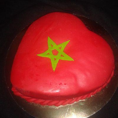 Un coeur moelleux aux couleurs marocaines