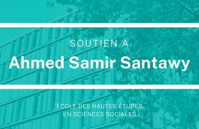 Soutien à Ahmed Samir Santawy, étudiant en anthropologie, arrêté par les autorités égyptiennes