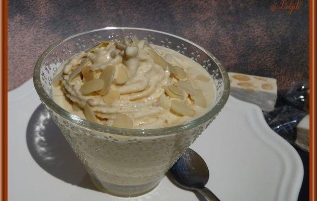 Crème Glacée au Nougat