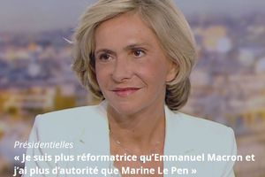 « JE SUIS CANDIDATE A LA PRÉSIDENCE DE LA RÉPUBLIQUE POUR RESTAURER LA FIERTÉ FRANÇAISE ».Valérie Pécresse (2/3)