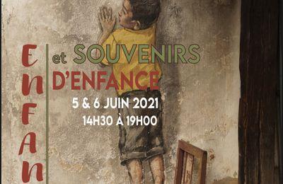 Exposition du collectif Arts-vignonet les 5 et 6 juin 2021