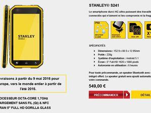 Mobile : STANLEY® MOBILE débarque sur les chantiers
