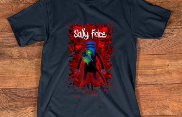 fficial Sally Face Sanity's Fall Larry The Trial shirt