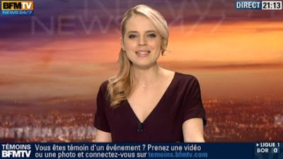 2013 02 17 - CLAIRE ARNOUX - BFM TV - WEEK-END 360 @21H00